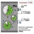 Часы EG5 Green
